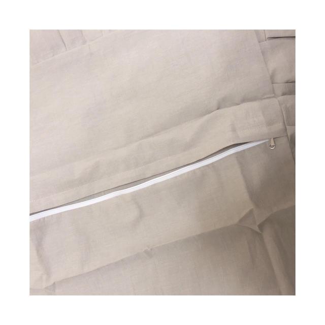 ~韓国 ふりるクッションカバー グレー~ インテリア/住まい/日用品のインテリア小物(クッションカバー)の商品写真