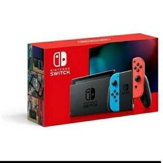 Nintendo Switch - 二月発送 Switch Joy-Con (L) ネオンブルー(R) ネオンレッド