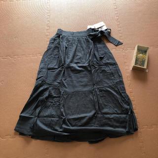 スタディオクリップ(STUDIO CLIP)の新品タグつき スタディオクリップ  ロングスカート リボン(ロングスカート)