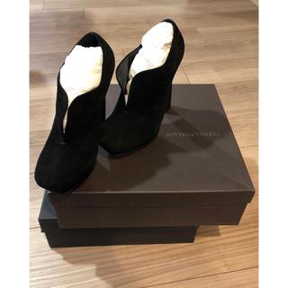 ボッテガヴェネタ(Bottega Veneta)のボッテガヴェネタ 新品ベロアパンプス ブーツ セルジオ ジュゼッペザノッティ(ブーツ)