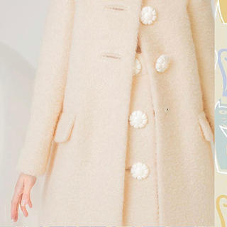 miumiu - miumiu 花ボタン スカート