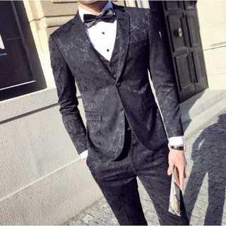 タキシード セットアップ 結婚式 スーツジャケット 披露宴 zb448(セットアップ)