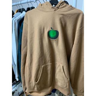 シュプリーム(Supreme)のSupreme Apple Hooded Sweatshirt brown (パーカー)