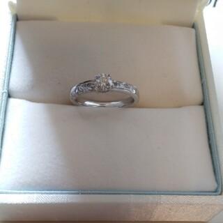 ユミカツラ(YUMI KATSURA)の桂由美ダイヤモンドエンゲージリング(リング(指輪))