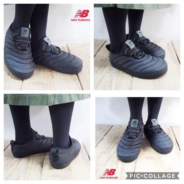 New Balance(ニューバランス)の全国完売★24.5~25cm★温か~(^^♪ NB CARAVAN MOC 灰 レディースの靴/シューズ(スリッポン/モカシン)の商品写真