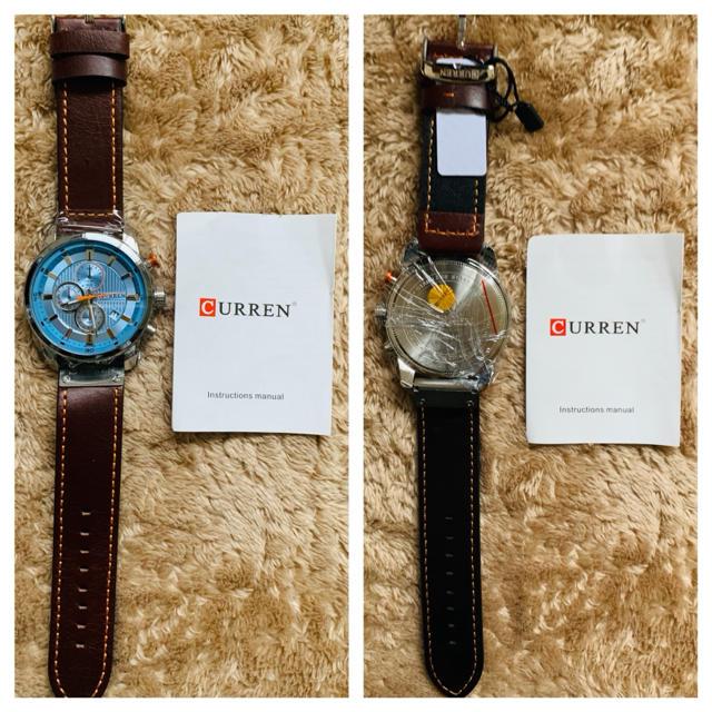 メンズ腕時計 CURREN カレン クォーツ クロノグラフ メンズの時計(腕時計(アナログ))の商品写真