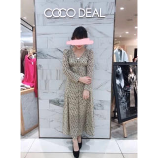 COCO DEAL - 花柄ワンピース