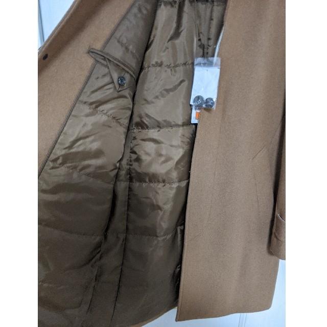nano・universe(ナノユニバース)のナノユニバース ウールステンコート 新品未使用 M キャメル メンズのジャケット/アウター(ステンカラーコート)の商品写真