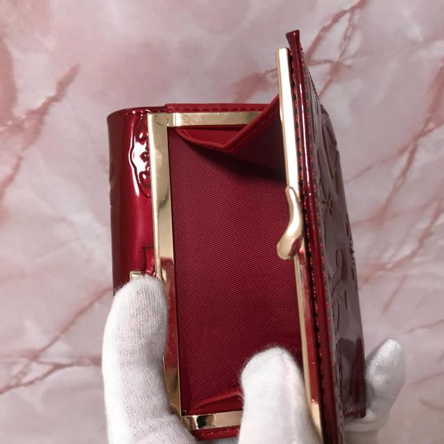 Vivienne Westwood(ヴィヴィアンウエストウッド)の赤エナメルがま口財布❤️ヴィヴィアンウエストウッド❤️新品・未使用 レディースのファッション小物(財布)の商品写真