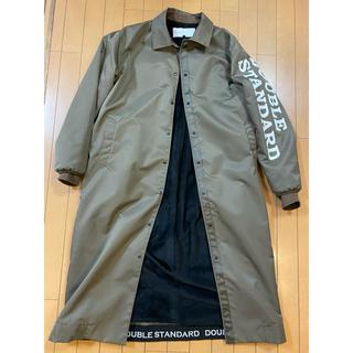 ダブルスタンダードクロージング(DOUBLE STANDARD CLOTHING)の定価43000円ダブルスタンダードクロージングナイロンロングコートユニセックス(ロングコート)