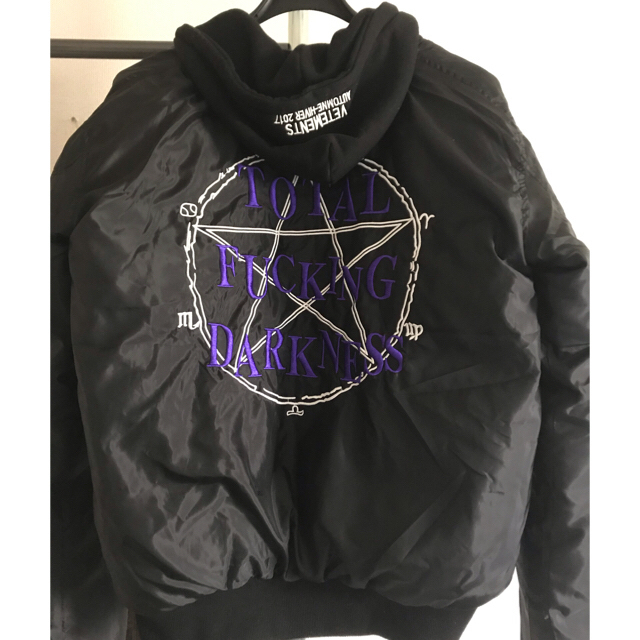 Balenciaga(バレンシアガ)の[登坂広臣着用] vetements  ボンバージャケット メンズのジャケット/アウター(ダウンジャケット)の商品写真