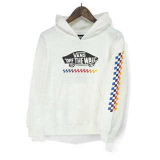 ヴァンズ(VANS)の新品 VANS バンズ 子供服 キッズ スウェット プルパーカー 130 (Tシャツ/カットソー)