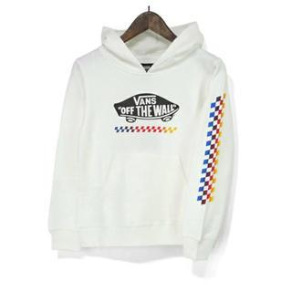 ヴァンズ(VANS)の新品 VANS バンズ 子供服 キッズ スウェット プルパーカー 150(Tシャツ/カットソー)