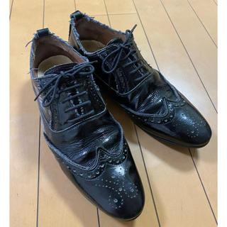 ユナイテッドアローズ(UNITED ARROWS)の定価19800円ユナイテッドアローズSFODERATOエナメルスニーカー靴27(スニーカー)