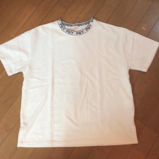 コムサイズム(COMME CA ISM)のCOMME CA ISM ジャガードプルオーバー Sサイズ(Tシャツ/カットソー(半袖/袖なし))