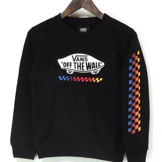 ヴァンズ(VANS)の新品 VANS バンズ キッズ トレーナー クルースウェット 子供服 130 (Tシャツ/カットソー)