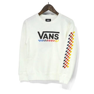 ヴァンズ(VANS)の新品 VANS バンズ キッズ トレーナー クルースウェット 子供服 130(Tシャツ/カットソー)