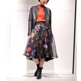 STUDIOUS - ユナイテッドトウキョウ 花柄スカート