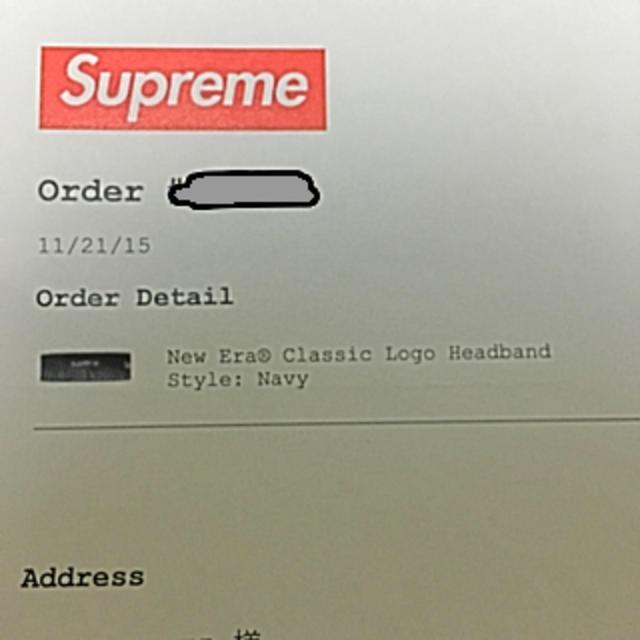 Supreme(シュプリーム)のシュプリーム × ニューエラ ヘアバンド メンズの帽子(その他)の商品写真