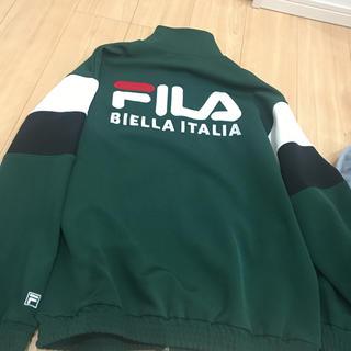 フィラ(FILA)の明日削除!本日のみ値下げ!FILA トラック ジャケット(ナイロンジャケット)