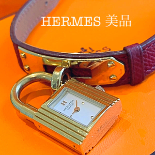 Hermes - HERMES ケリーウォッチ 美品