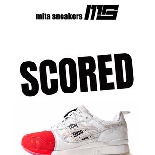 asics - 26.5cm mita sneakers asics gel lyte 3 限定