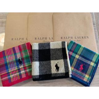 POLO RALPH LAUREN - ✨ポロラルフローレン✨ハンカチ3枚セット✨
