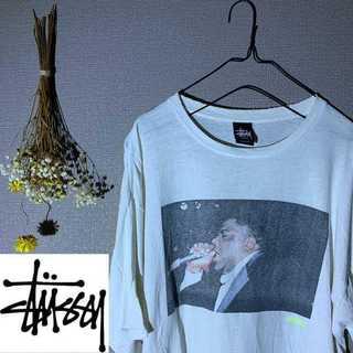ステューシー(STUSSY)のstussy ステューシー ビッグプリント Tシャツ ニガー バックプリント(Tシャツ/カットソー(半袖/袖なし))