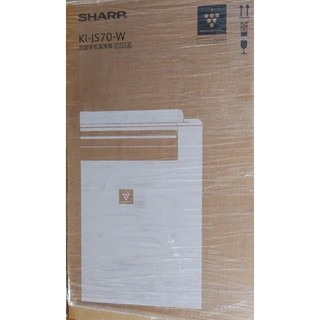SHARP - シャープ 加湿空気清浄機 KI-JS70-W ホワイト