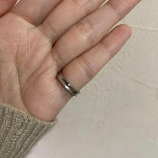 【送料無料】シンプルなシルバーリング(リング(指輪))