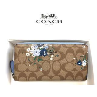 COACH - 新品未使用品★コーチ シグネチャー フローラルプリントレザー長財布 F39156