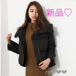 rienda - 新品❤️Volume Back Tail Short Down Coat