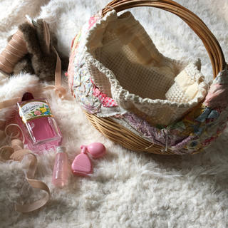 ロキエ(Lochie)の🔻vintage straw bag(ハンドバッグ)
