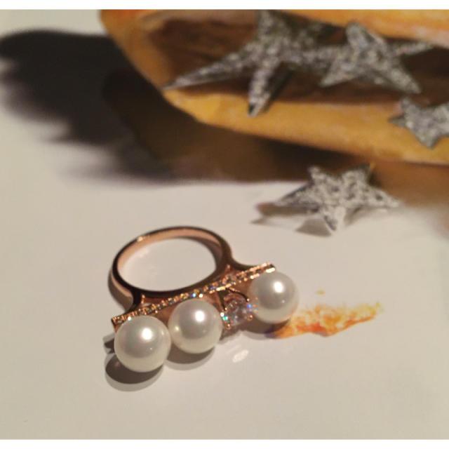 パールバー ファッションリング レディースのアクセサリー(リング(指輪))の商品写真