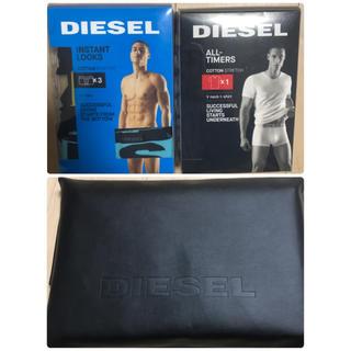 ディーゼル(DIESEL)のディーゼル ボクサーパンツ×3、Tシャツ×1 新品未使用 送料無料(ボクサーパンツ)