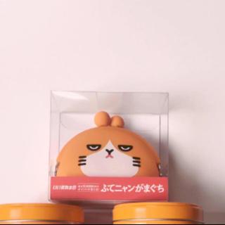 ソフトバンク(Softbank)のふてにゃん がま口財布(キャラクターグッズ)