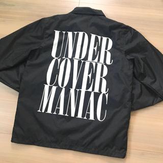 UNDERCOVER - 未使用 アンダーカバー コーチジャケット ナイロンジャケット 黒 M