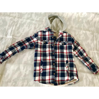 GAP Kids - GAPキッズ フード付き 中ボア加工タイプの暖いシャツ