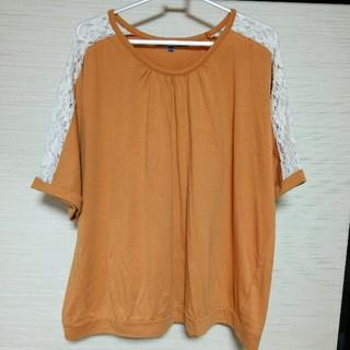 アイールちゃん様専用 ☆4L☆ オレンジ Tシャツ(Tシャツ(半袖/袖なし))