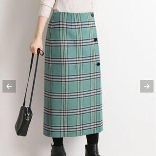 IENA - 新品タグ付き☆ イエナ Wフェイスリバーシブルミッドカーフスカート 38