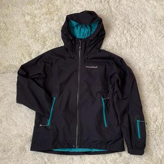 mont bell - mont-bell モンベルストーム ジャケット 保存袋有 レディース Lサイズ