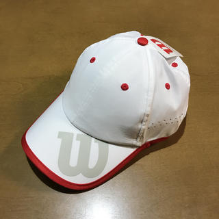 ウィルソン(wilson)のWilson Brand cap  OSFA(キャップ)