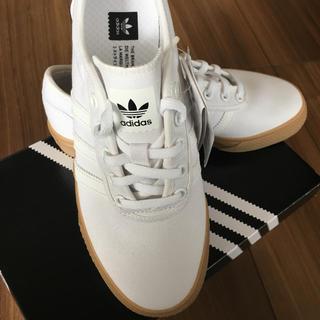 adidas - 【匿名配送】アディダス スニーカー 白 キャンバス地