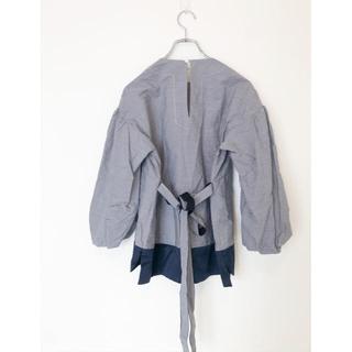 Drawer - ♧美品♧drawer ドゥロワー  ボリュームスリーブシャツ