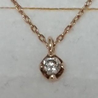 ブルーム(BLOOM)のBLOOM ブルーム 一粒ダイヤモンドネックレス(ネックレス)