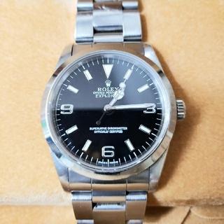 ロレックス(ROLEX)のROLEX ロレックス エクスプローラ 14270(腕時計(アナログ))