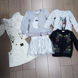アースミュージックアンドエコロジー(earth music & ecology)の子供服 80、90、95 女の子 まとめ売り(Tシャツ/カットソー)