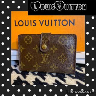 LOUIS VUITTON - 正規品꙳★ルイヴィトンモノグラム✧︎がま口2つ折財布✧︎ルイヴィトン財布✧︎