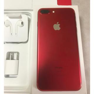 Apple -  iPhone 7plus 128GB red【超美品】