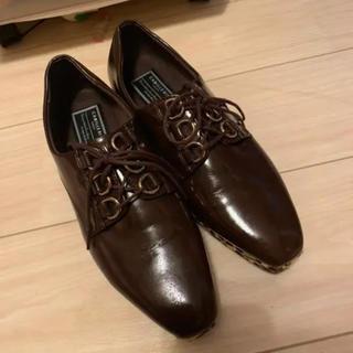 ランダ(RANDA)のRANDA レースアップシューズ(ローファー/革靴)